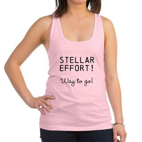 STELLAR EFFORT WAY TO GO Tank Top