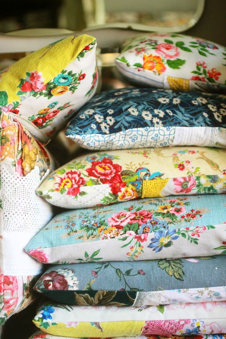 the linen garden. #pillows