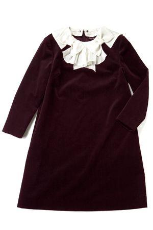 Jane Marple Mini Dress Drape Ribbon