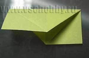 сгибаем блок для звезды оригами своими руками пополам