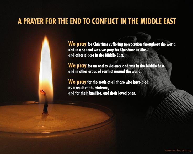 Middle East, Prayer For And Prayer On Pinterest