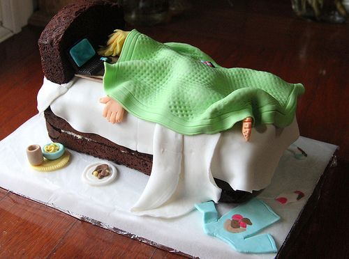Sleepy-head Birthday cake | for a teenage boy | Crazy House Capers | Flickr
