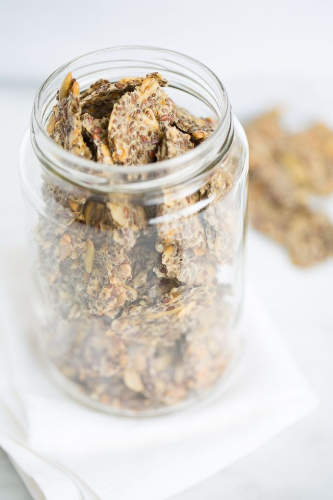 Galletas de chia y otras semillas Más