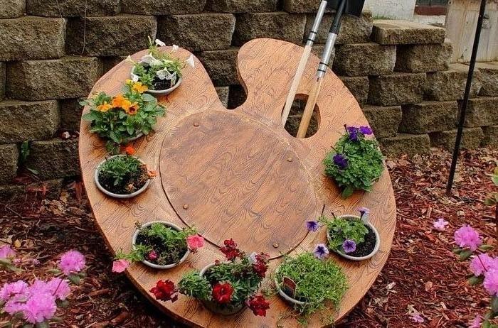 Дизайн сада своими руками подразумевает не только красивые цветники и...