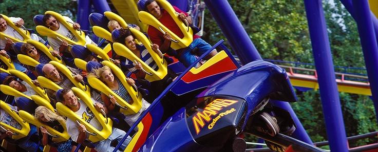 Rode the Mantis Standup Roller Coaster, Cedar Point