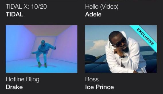 Ice Prince's Boss video becomes first African video to premiere on Jay Z's Tidal - https://www.thelivefeeds.com/ice-princes-boss-video-becomes-first-african-video-to-premiere-on-jay-zs-tidal/