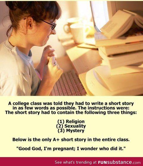 Very short story