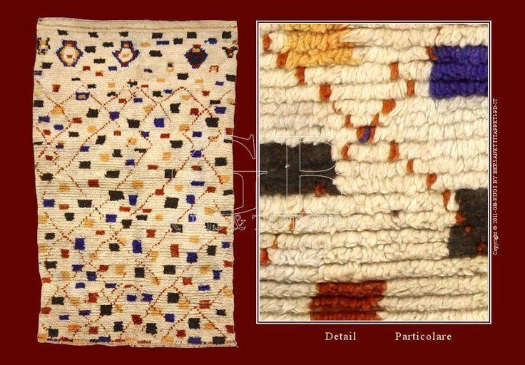 Tappeto Berbero Azilal Alto Atlante, si caratterizzano