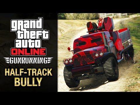cool GTA Online Gunrunning - Mobile Operation #2 - Half-track (Half-track Bully)