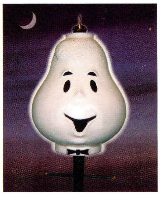 Halloween Outdoor Ghost Lamppost Lampshade Cover Yard Decoration Unbranded Halloween Outdoor