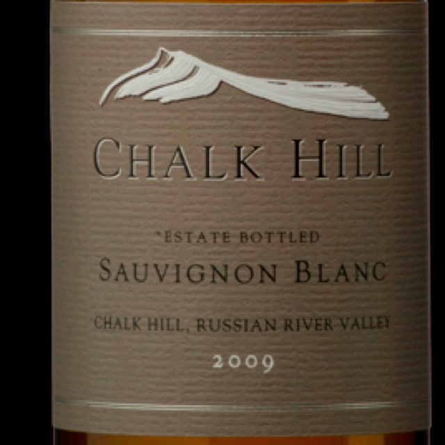 Chalk Hill Sauv Blanc..one of the biggest SB's I've had!! Really really bold if you're not usually a SB drinker. If ya got $22, pick this up!!