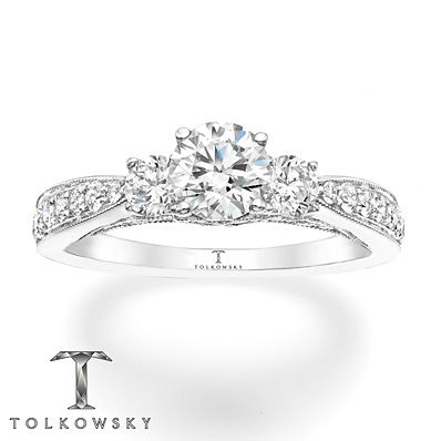 110 best Tolkowsky Engagement Rings images on Pinterest Diamond