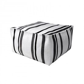 HK-living-poef-ottoman-lagune-loungeset-zwart-wit-grijs-ham0003 - 469 eur