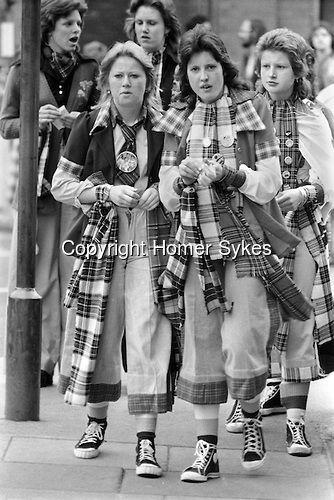 The Tartan Army, Bay City Rollers fans 1975
