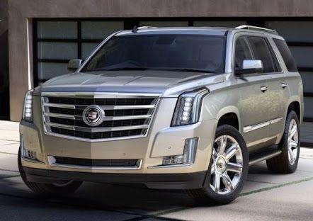 2017 Cadillac Escalade Design