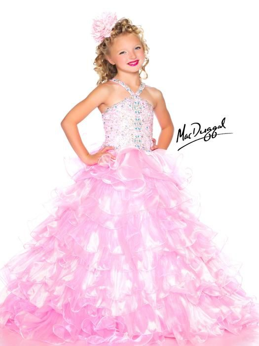 || Pure Couture Prom || Your little girl's pageant dress, get it at Pure Couture Prom! Sugar by Mac Duggal