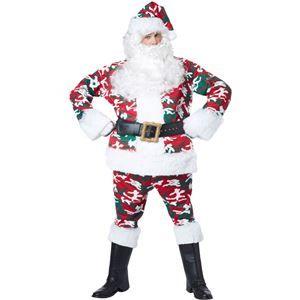 Santa Camo Suit Adult Mens Costume - 405168 | trendyhalloween.com