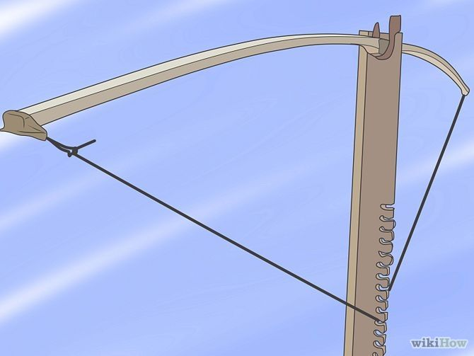 Make a Recurve Bow Step WIKI HOW