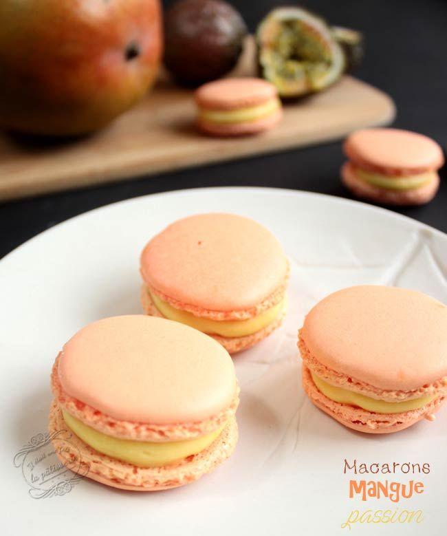 Macarons mangue passion #macaron