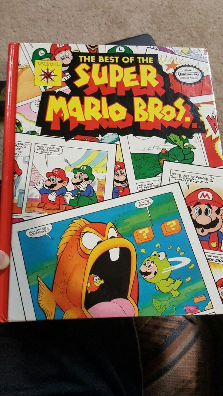 Really old Super Mario Bros. Comic Book. #nintendo #nes #supermario #supermariobros #comic #comics #book #80s #mario #cartoon #game #games