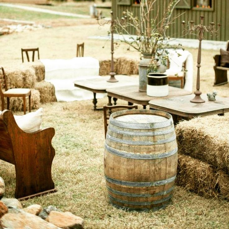 """""""Once in a while I get inspired and finish my act with the hillbilly hoedown"""" #country#hoedown#rustic#rusticparty#rusticdecoration#party#theme#event#melbourneevent#melbourneparty#birthday#bday#fun#eventstyling#eventplanning#eventstylist#outdoors#21stbirthday#21st#30th#30thbirthday#cocktailparty#cocktails#bar#winebarrel#40th#50th#60th#creative#vintage"""
