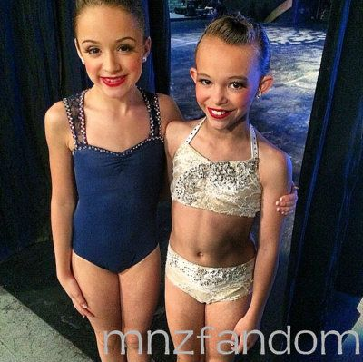 [S5E13] Kira Girard's studio Adage competed against the ALDC. This is a picture of two of her soloists.