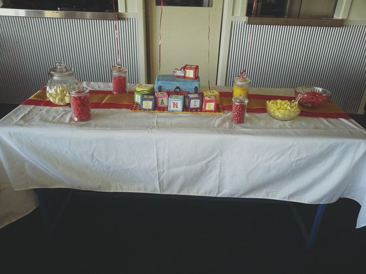 Toy Story 1st Birthday Candy Buffet