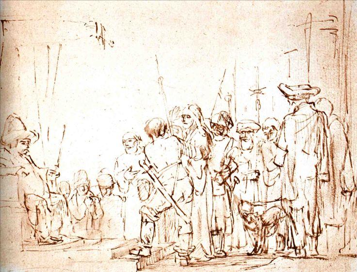 Jésus devant Caïphe