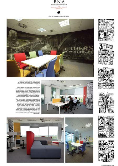 Y Office – Colliers International - Bienala Naţională de Arhitectură 2014