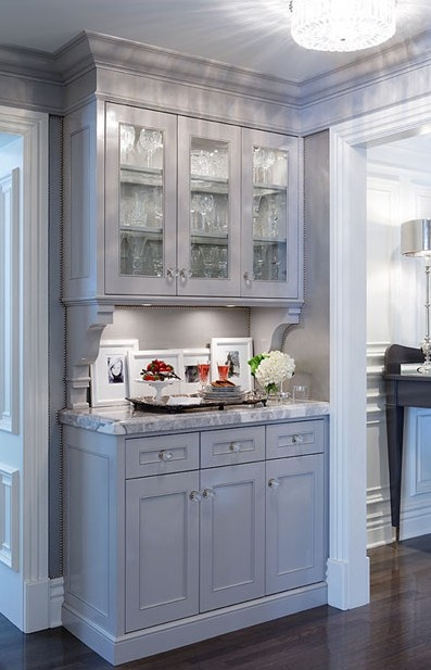 Even In Our Small Kitchen It Would Be Nice To Have A Butlers Pantry Staging Area Kitchens