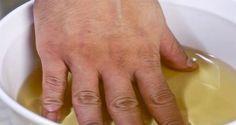 Kúpeľ pre odstránenie reumatických bolestí kĺbov rúk, nôh či krku