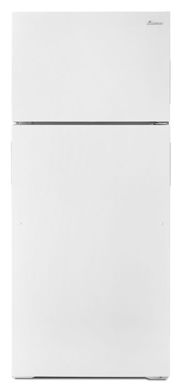 amana art106tfd 28 inch wide 16 cu ft top mount with dairy center