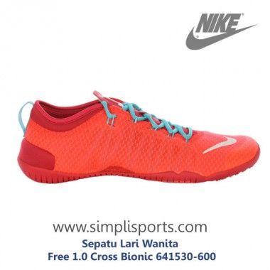 Sepatu Lari Wanita Free 1.0 Cross Bionic 641530-600 ORI