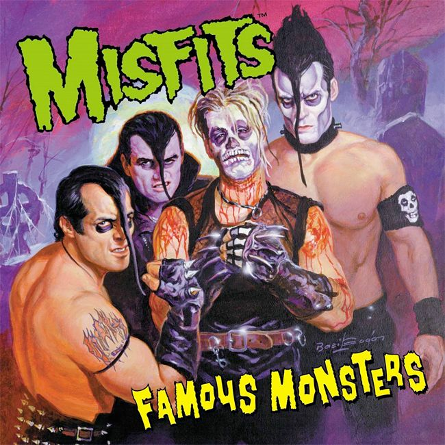 'The Misfits' - Art by Basil Gogos