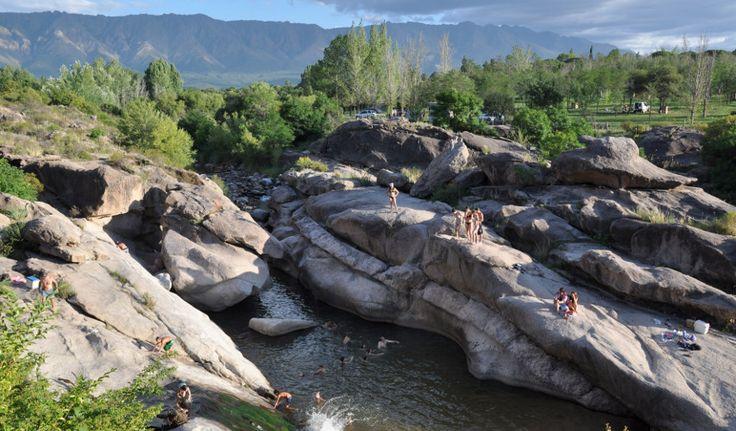 Los-remansos-rio-chico, Nono, Córdoba