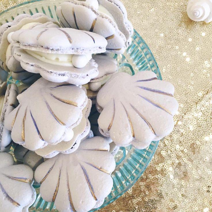 via @sweetnsaucyshop  #worldsuniquedesigns #macarons #istiridye #pearl #loveit #desert #makaron #pul #payet #pulpayet #istiridyemakaron #denizkabuğu #oysters #oystermacaron #seashells #springbreak #desertdesign #macarondesign #designer #lila #desertpost #likelikelike #likepost
