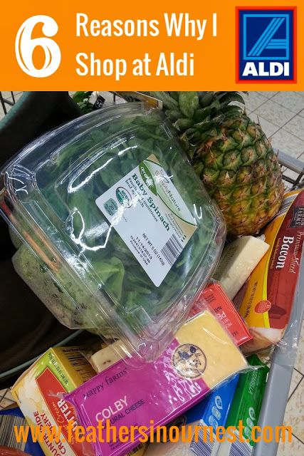 6 great reason to start shopping at #Aldi today! @ALDI USA  |  Feathers in Our Nest
