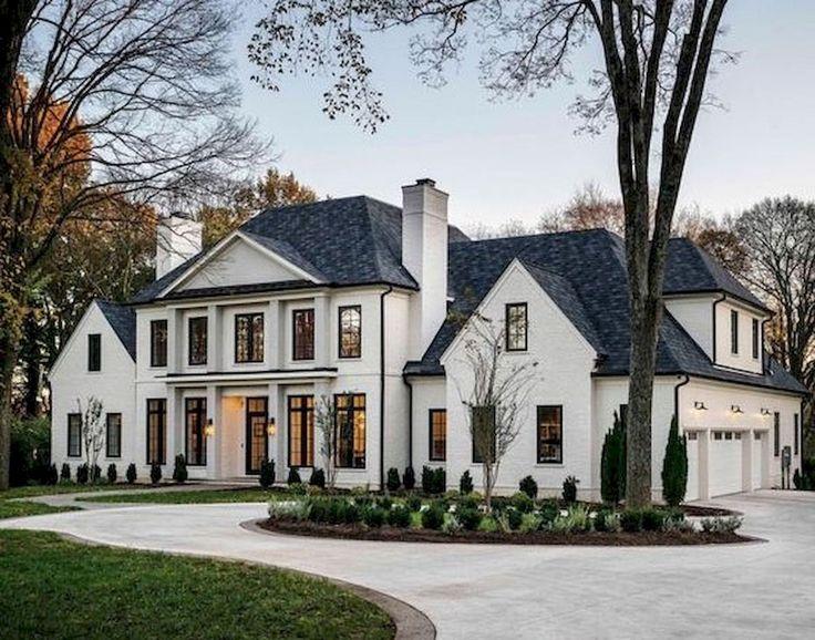 65 Stunning Modern Dream House Exterior Design Ideas