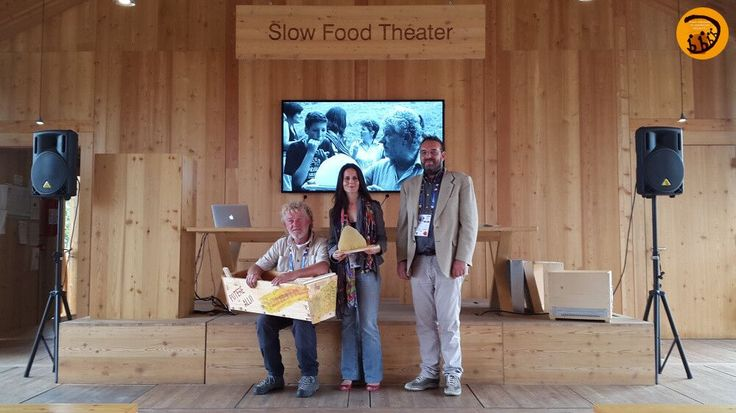 Renzo Erini, Claudia Angrisani, GianMario Folini della Scuola Ambulante di Agricoltura Sostenibile