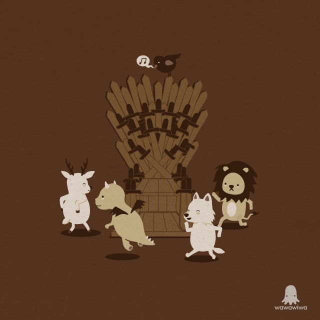 Game of musical thrones by Wawawiwa design, via Flickr