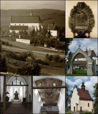 49. Kašperské Hory - kostel sv. Mikuláše a kaple svaté Anny