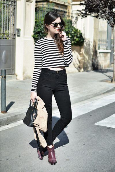 Black & white  #stripes #streetstyle #fashion