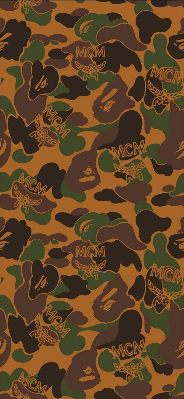 Bape Mcm Pattern Wallpaper By Souljahp D6 Free On Zedge Bape Wallpapers Pattern Wallpaper Cute Anime Wallpaper