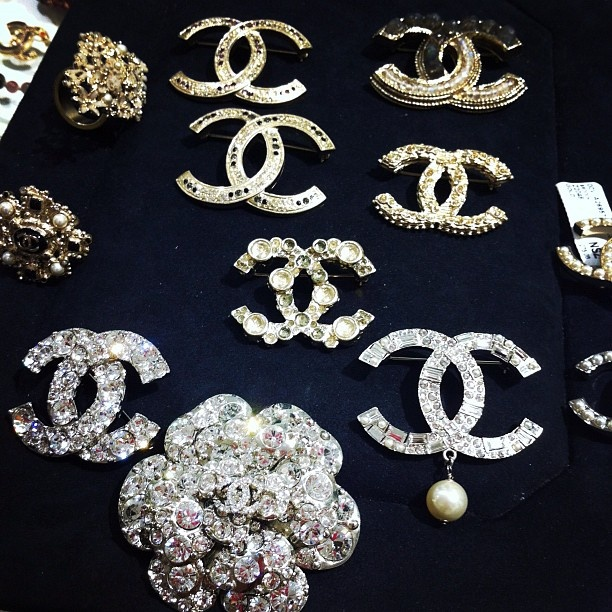 Chanel brooches - obsessed