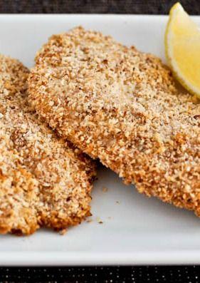 Macaroon Crusted Tilapia I howsweeteats.com
