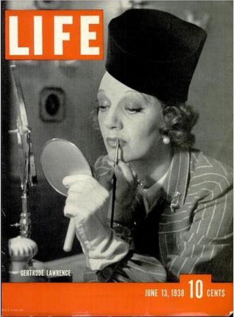 Life Magazine Cover Jun 13, 1938 - Gertrude Lawrence