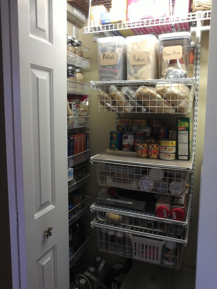 Half Closet Half Pantry Google Search Converted Coat