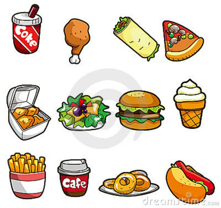 Cartoon Food Cartoons In 2019 Icons