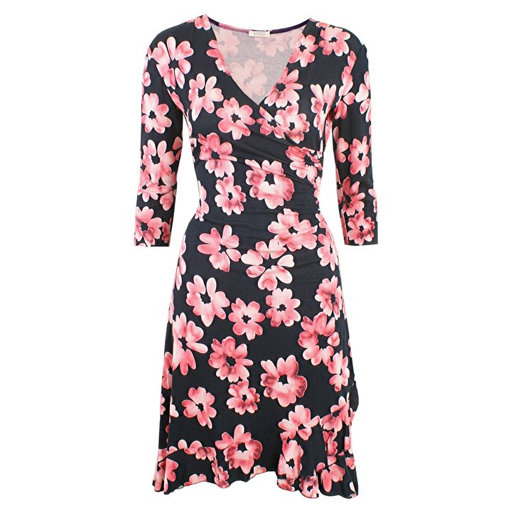 Paulina Lovely Coralle von KD Klaus Dilkrath #kd #dilkrath #kd12 #outfit #dress #paulina #lovely #coralle #pink #summer #spring #kleid #flower #blumen #volant