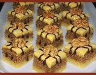 Linecké ořechové kostky